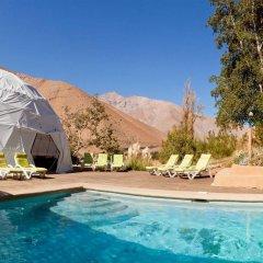 Отель Elqui Domos бассейн фото 2