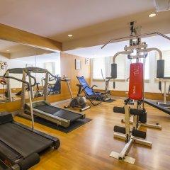 Отель Silom City фитнесс-зал