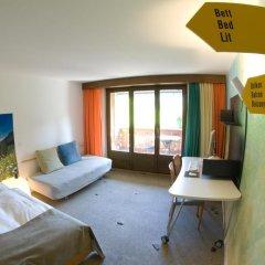 Отель Alpine Lodge Швейцария, Гштад - отзывы, цены и фото номеров - забронировать отель Alpine Lodge онлайн комната для гостей фото 3