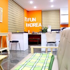 Отель CMS Inn Seoul Guesthouse питание