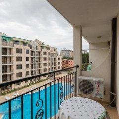 Апартаменты Studio with Balcony & Pool View балкон