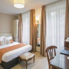 Отель Best Western Au Trocadero Франция, Париж - 1 отзыв об отеле, цены и фото номеров - забронировать отель Best Western Au Trocadero онлайн комната для гостей фото 3