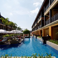 Отель Diamond Cottage Resort And Spa пляж Ката бассейн фото 3