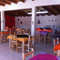 Отель Hacienda Bustillos питание