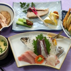 Akisawa Hotel Тосасимидзу питание фото 2