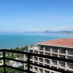 Апартаменты Linhai Dujia Apartment балкон