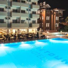 Side Town Hotel by Z Hotels Турция, Сиде - 1 отзыв об отеле, цены и фото номеров - забронировать отель Side Town Hotel by Z Hotels - All Inclusive онлайн бассейн фото 3
