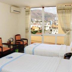 Отель Thanh Thuy Hotel Вьетнам, Вунгтау - отзывы, цены и фото номеров - забронировать отель Thanh Thuy Hotel онлайн комната для гостей фото 5