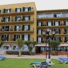 Отель Prestige Coral Platja Испания, Курорт Росес - отзывы, цены и фото номеров - забронировать отель Prestige Coral Platja онлайн пляж фото 2