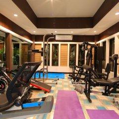 Отель Вилла Boutique Resort Private Pool фитнесс-зал фото 2