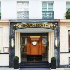 Отель Hôtel Opéra Richepanse Франция, Париж - 2 отзыва об отеле, цены и фото номеров - забронировать отель Hôtel Opéra Richepanse онлайн вид на фасад