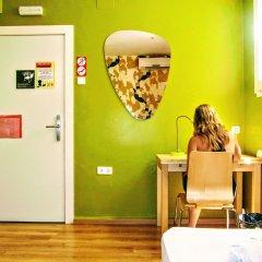 Yellow Nest Hostel Barcelona удобства в номере