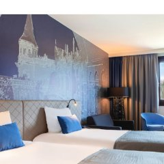 Отель Mercure Budapest Castle Hill Венгрия, Будапешт - 2 отзыва об отеле, цены и фото номеров - забронировать отель Mercure Budapest Castle Hill онлайн комната для гостей фото 5