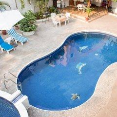 Отель Villas Mercedes Сиуатанехо бассейн фото 3