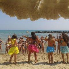 Grand Hotel Adriatico пляж фото 2