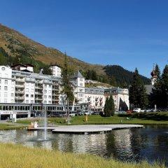 Отель Seehof Швейцария, Давос - отзывы, цены и фото номеров - забронировать отель Seehof онлайн приотельная территория фото 2