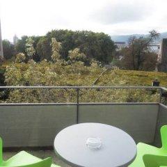 Апартаменты EMA house Serviced Apartments, Unterstrass Цюрих балкон