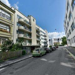 Апартаменты Forenom Serviced Apartments Oslo Rosenborg парковка