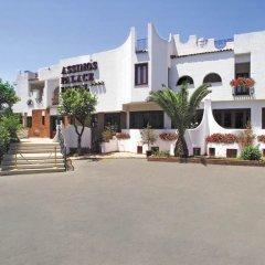Отель Assinos Palace Джардини Наксос пляж
