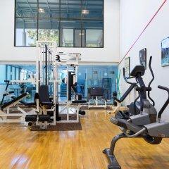 Отель Cholchan Pattaya Beach Resort фитнесс-зал