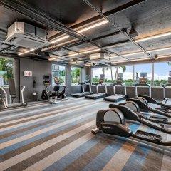 Отель Aloft Delray Beach США, Делри-Бич - отзывы, цены и фото номеров - забронировать отель Aloft Delray Beach онлайн фитнесс-зал фото 3