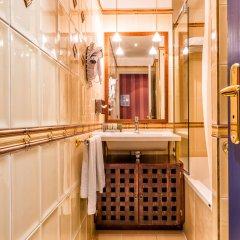 Отель Villa Panthéon Франция, Париж - 3 отзыва об отеле, цены и фото номеров - забронировать отель Villa Panthéon онлайн ванная фото 2