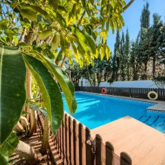 Отель Hacienda Roche Viejo Испания, Кониль-де-ла-Фронтера - отзывы, цены и фото номеров - забронировать отель Hacienda Roche Viejo онлайн бассейн
