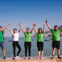 Отель Green Hotel Вьетнам, Вунгтау - отзывы, цены и фото номеров - забронировать отель Green Hotel онлайн фитнесс-зал