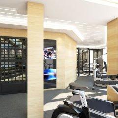 Отель Square Черногория, Будва - отзывы, цены и фото номеров - забронировать отель Square онлайн фитнесс-зал фото 3