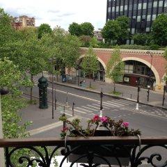 Отель Hôtel Prince Albert Concordia балкон