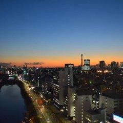 Tokyo Central Youth Hostel Токио балкон