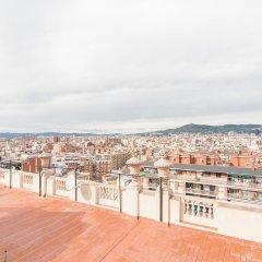 Отель Montaber Apartments - Plaza España Испания, Барселона - отзывы, цены и фото номеров - забронировать отель Montaber Apartments - Plaza España онлайн балкон