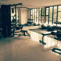 Апартаменты Pintree Service Apartment Pattaya Паттайя фитнесс-зал