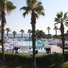 Papillon Belvil Holiday Village Турция, Белек - 10 отзывов об отеле, цены и фото номеров - забронировать отель Papillon Belvil Holiday Village онлайн пляж фото 2