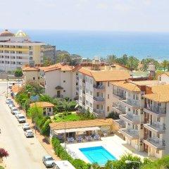 Kaya Apart Hotel Side Турция, Сиде - отзывы, цены и фото номеров - забронировать отель Kaya Apart Hotel Side онлайн пляж фото 2