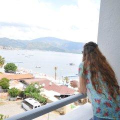 Отель CLASS BEACH MARMARİS Мармарис балкон