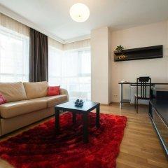Отель Platinum Towers E-Apartments Польша, Варшава - отзывы, цены и фото номеров - забронировать отель Platinum Towers E-Apartments онлайн комната для гостей