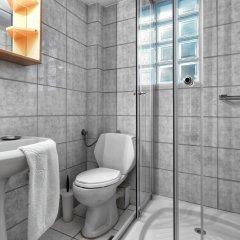 Отель Elia Apartments Греция, Афитос - отзывы, цены и фото номеров - забронировать отель Elia Apartments онлайн ванная