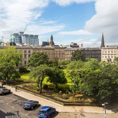 Апартаменты Blythswood Square Apartments парковка