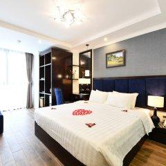 Hanoi Bella Rosa Trendy Hotel комната для гостей фото 3