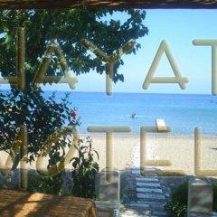 Отель Hayat Motel пляж фото 2