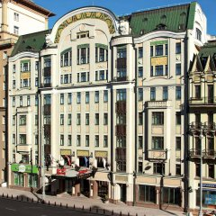 Гостиница Марриотт Москва Тверская балкон