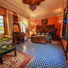 Отель Riad Dar Guennoun Марокко, Фес - отзывы, цены и фото номеров - забронировать отель Riad Dar Guennoun онлайн комната для гостей фото 4