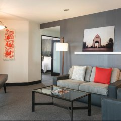 Отель Embassy Suites Mexico City Reforma Мехико комната для гостей фото 2