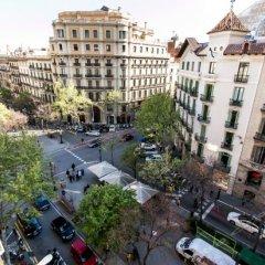 Апартаменты Cosmo Apartments Consell de Cent балкон