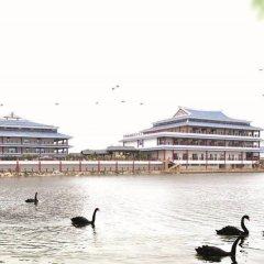 Отель Xiamen Aqua Resort пляж фото 2