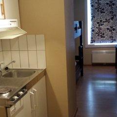 Отель Bergen Budget Aparthotel Норвегия, Берген - отзывы, цены и фото номеров - забронировать отель Bergen Budget Aparthotel онлайн ванная фото 2
