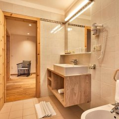 Отель Garni Appartements Arnika Стельвио ванная