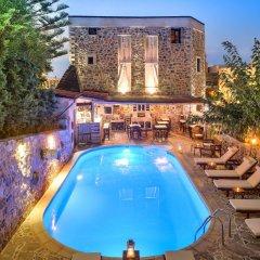 Отель Balsamico Traditional Suites Греция, Херсониссос - отзывы, цены и фото номеров - забронировать отель Balsamico Traditional Suites онлайн бассейн фото 2