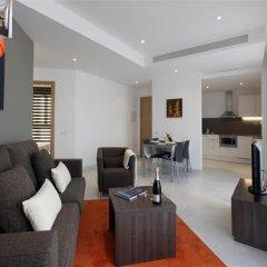 Апартаменты Fisa Rentals Les Corts Apartments комната для гостей фото 2